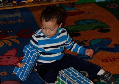 Building his future, one block at a time.